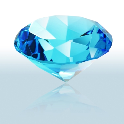 Blue cut polished diamond, Ten Random Facts, Free Digital Photos