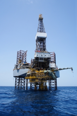 Oil Rig, Ten Random Facts, Sea, Free Digital Photos