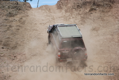 Four Wheel Drive, 4WD, 4X4, Janowen Hills 4WD Park, Old Quarry, Patrol