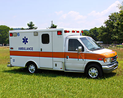 Emergency Ambulance truck, Ten Random Facts, Free Stock Photos