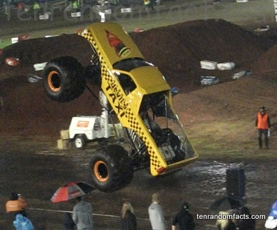 Monster Truck, Supercross, Superx, Devil's Taxi, Ten Random Facts