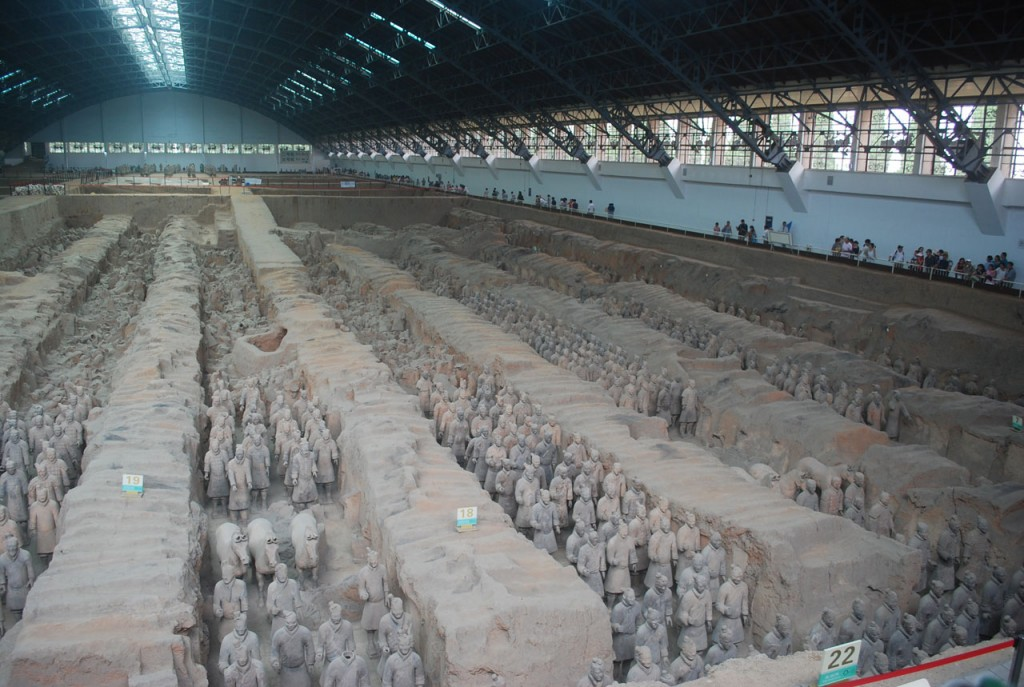 Terracota Army, Warriors, China, clay, Shi Huangdi, Ten Random Facts, Public Domain Pictures