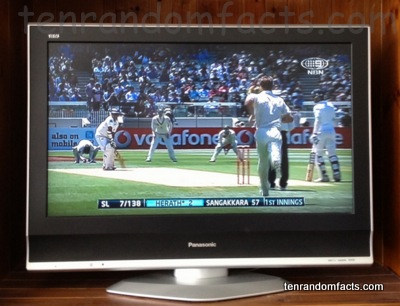 Boxing Day, Test Cricket, Australia, Melbourne, Television, Panasonic, NBN 9:::, Herath, Sangakkara, Ten Random Facts