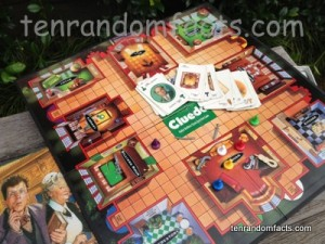 Cluedo, Board, Cards, Reverend, Mr, Green, Rooms, Box, Weapons, Game, Ten Random Facts