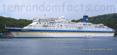 Cruise Ship, Liner, Ocean Dream, Pacific Star, Vanuatu, Australia, Queensland, P&O Cruises Australia, Ten Random Facts, 2006