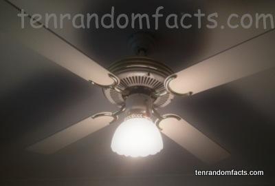 Ceiling fan ten random facts ceiling fan roof light on old model classic ten random facts aloadofball Choice Image