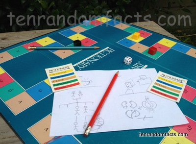 Pictionary, Game, Drawing, Art, Board, Pencil, Cards, Drawings, Play, Ten Random Facts