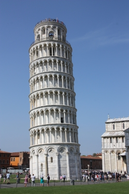 leaning tower of pisa italy facts