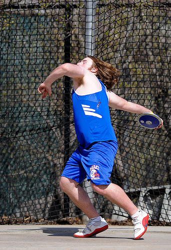 Discus, Throwing, Disc, About to, Ten Random Facts, 2010, Macalester, Hamline, Flickr