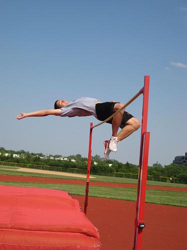 High Jump, Bar, Flop, Out, Joe Cortina, Red, Man, Ten Random Facts, Flickr,