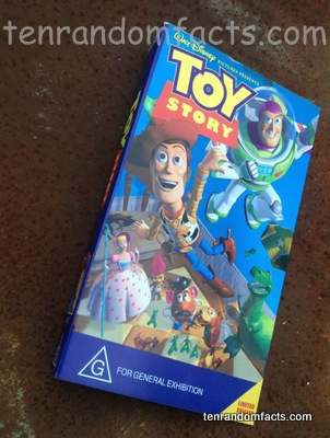 Toy Story, Movie, Film, Toys, Woody, Buzz Lightyear, Feature Film, Video, Disney, Pixar, Ten Rando Facts