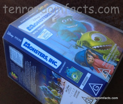 Monster, Inc., Movie, Pixar, Film, Video, Case, G, Ten Random Facts