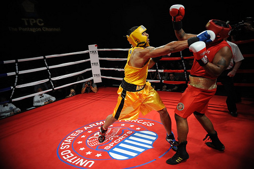 Boxing, Yellow, Men, Red, Punch, Play, Hawaii, 2012, Ten Random Facts, Flickr,