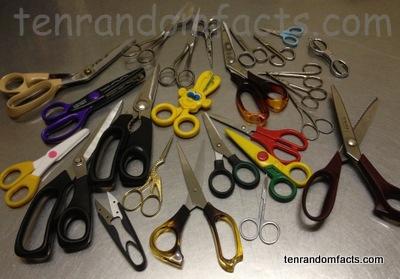 Scissors, Metal, Shears, Lots, Many, Ten Random Facts