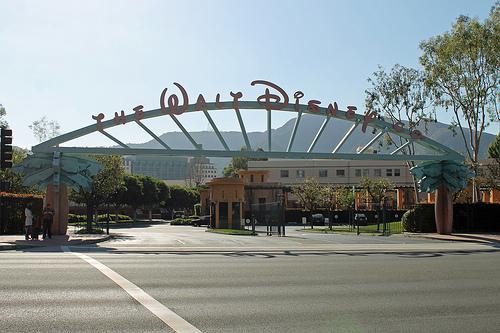 The Walt Disney Company, Sign, Studio, Califronia, America, Betty White Tour, flickr, Ten Random Facts, Film