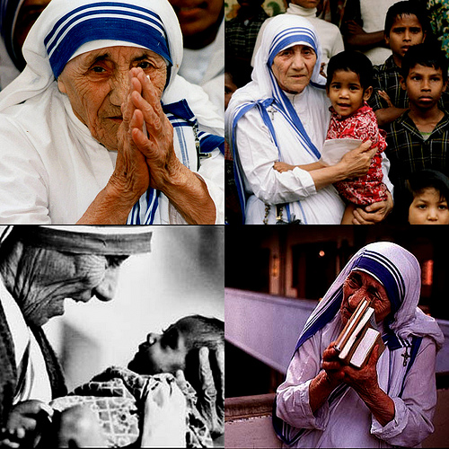 information on mother teresa in hindi