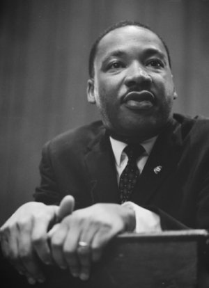 Martin Luther King Jr, Black and White Photograph, Speaking, Speech, American Civil Rights, Ten Random Facts, Flickr