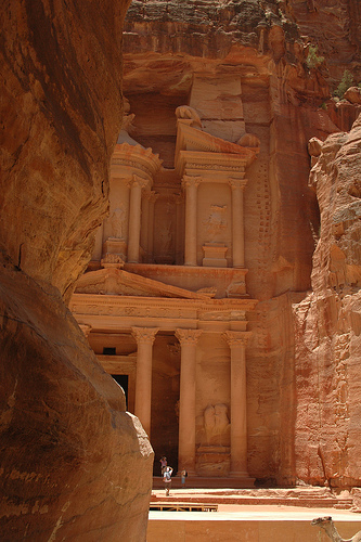 Petra, Front, Rose, Ten Random Facts, New Seven Wonders of the World, Jordan, City,