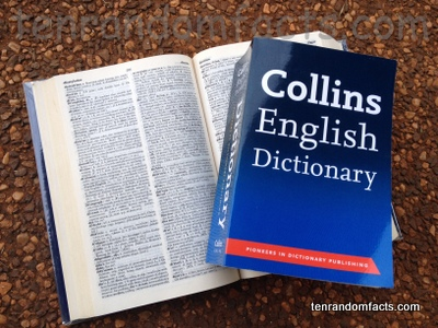 Open dictionary english to english