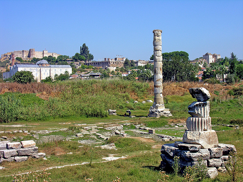 Temple of Artemis at Ephesus, Ruins, Site, Turkey, Pole, Remains, Ten Random Facts, Flickr