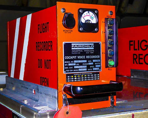 Black Box Flight Recorder, Orange, Cockpit Voice Recorder, CVD, DO NOT OPEN, Two, Ten Random Facts, Flickr