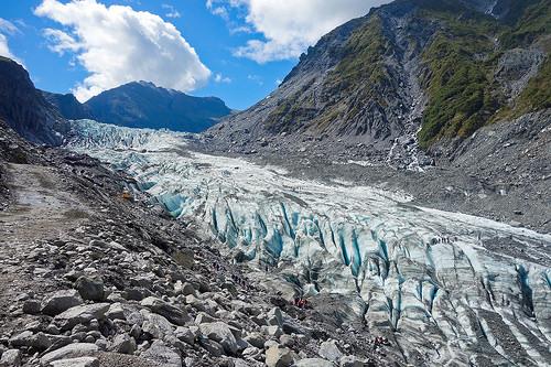 Fox Glacier, Ice, Hiking, People, Size, New Zealand, Mountain, Ten Random Facts, Flickr