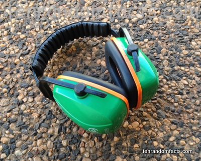 Earmuffs, Green, Acoustic, Sound, Protector, Invention, Ten Random Facts