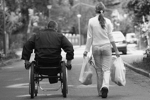 Multiple Sclerosis, Ill, Disease, Wheelchair, Black and White, Sad, Disability, Ten Random Facts, Flickr