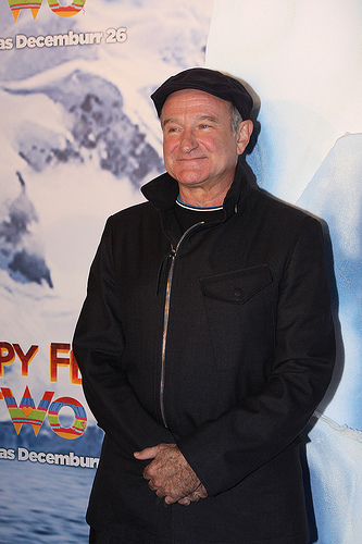 Robin Williams, Happy Feet Two, Premier, Comedian, Actor, Death, Dead, Ten Random Facts, Flickr, Comedian