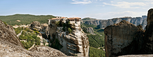 Meteora, Rocks, Pillars, Religion, Monastery, Greek, Ten Random Facts, Flickr, Place,