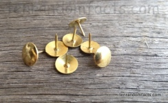 Push pin, gold, rustic, Thumb Tack, Drawing Pin, Flat head, metal, Ten Random Facts, Invention