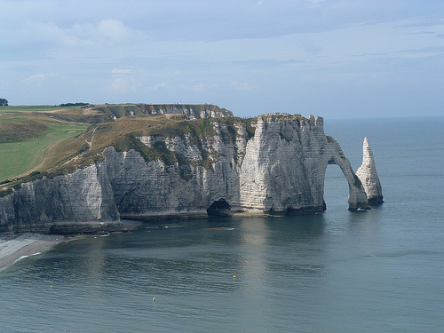 Cliffs Of Etretat Ten Random Facts