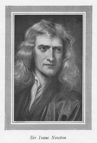 Isaac Newton, Portrait, Sketch, Sir, Pencil, Old, Ten Random Facts, Scientist, Gravity, Motion, Flickr, Human