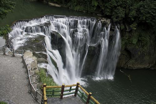 Shifen Waterfall, Taipei, Taiwan, Park, Water, Rock, Ten Random Facts, Flickr