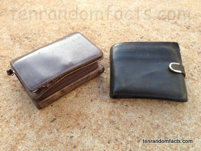 Wallet, Leather, Black, Brown, Male, Female, Ten Random Facts, Money, Fashion, Invention