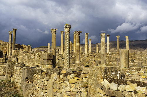 Cuicul, Ruins, Roman, Algeria, Columns, Ancient, Ten Random Facts, Structure, Architecture