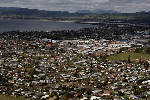 Rotorua, Place, City, Aerial, New Zealand, Lake, Ten Random Facts, Flickr
