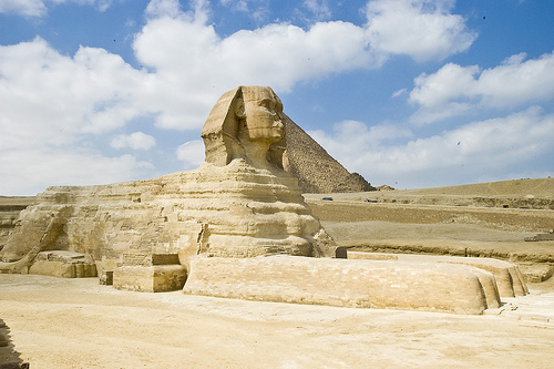 Great Sphinx of Giza, Egypt, Sandstone, Monument, Large, Africa, Statue, Ancient