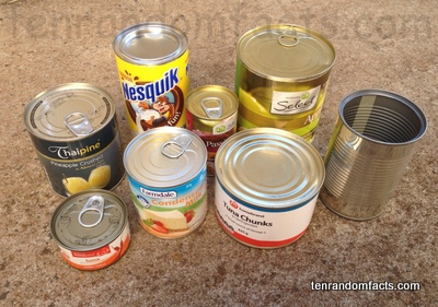 Tin Cans Food Poisoning