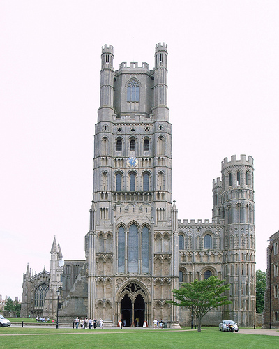 Ely Cathedral, Religion, Building, Construction, Ten Random Facts, Europe, Large, Front, Church
