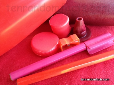 Red, Pink, Colour, Objects, Shades, Assortment, Ten Random Facts