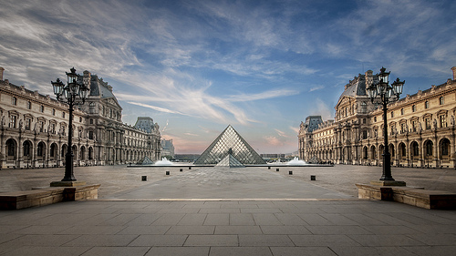 The Louvre, Mona Lisa, Glass Pyramid, Beauty, Scene, Ten Random Facts, Museum, France, Paris