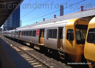 Train, Yellow, Steel, Transport, Locomotive, Local, Australia, Electrical, Ten Random Facts