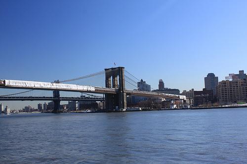 Brooklyn Bridge, America, Suspension, Water, River,  Trivia, Ten Random Facts, United States