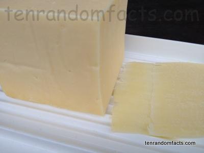 Cheddar Cheese, Tasty, Food, Dairy, Culinary, Ten Random Facts, Homebrand,