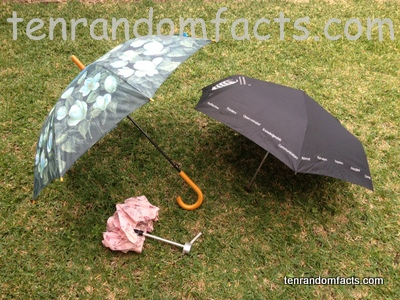 Umbrella, Invention, Trivia, Random Facts, Assortment, Open, Closed