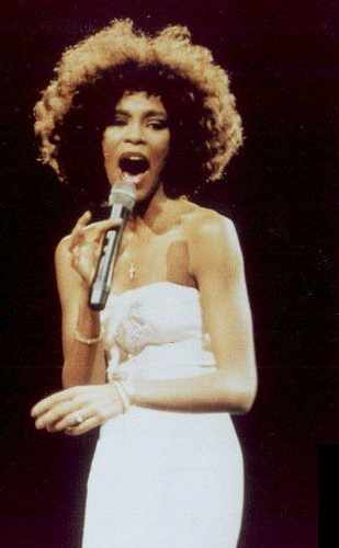 Whitney Houston, Singer, White, Traditional, Frizzy, Ten Random Facts, White,  Musician, Legend
