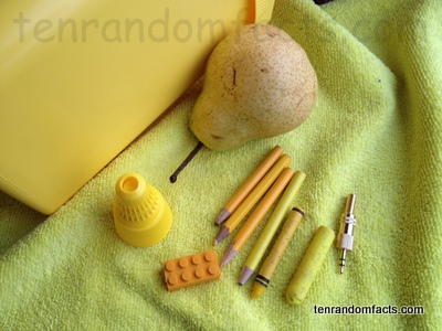 Yellow, Colour, Color, Ten Random Facts, Collection, Assortment, Shades,