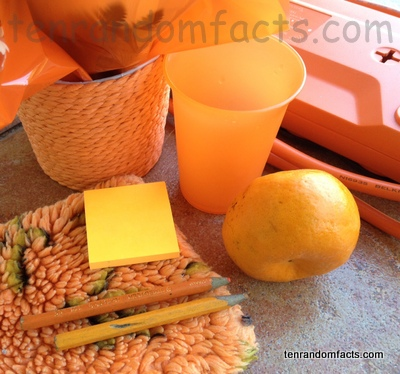 Orange, Colour, Assortment, Shades, Variety, Science, Ten Random Facts, Trivia