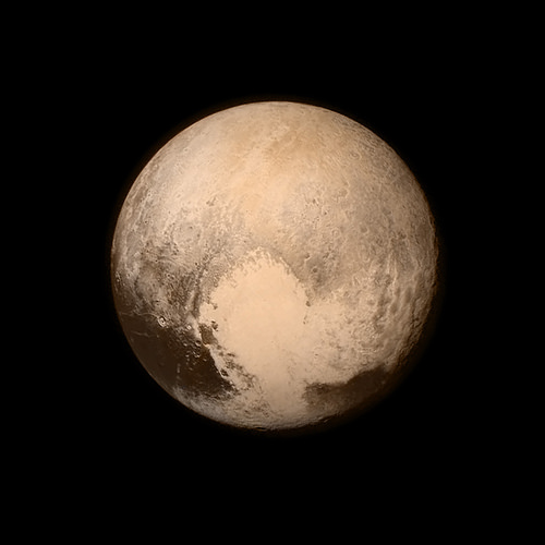 Pluto, Flyby, Orange, New, Front, Planet, Far, Dwarf, Minor, Trivia, Ten RandoM Facts, Heart